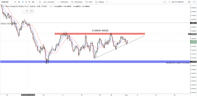 NZD/USD:- What Impact Will The Fundamentals Have This Week?